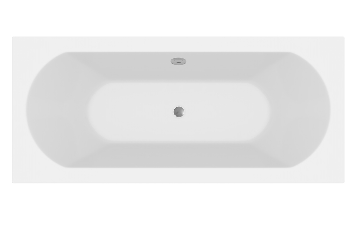 Round Double Ended Bath
